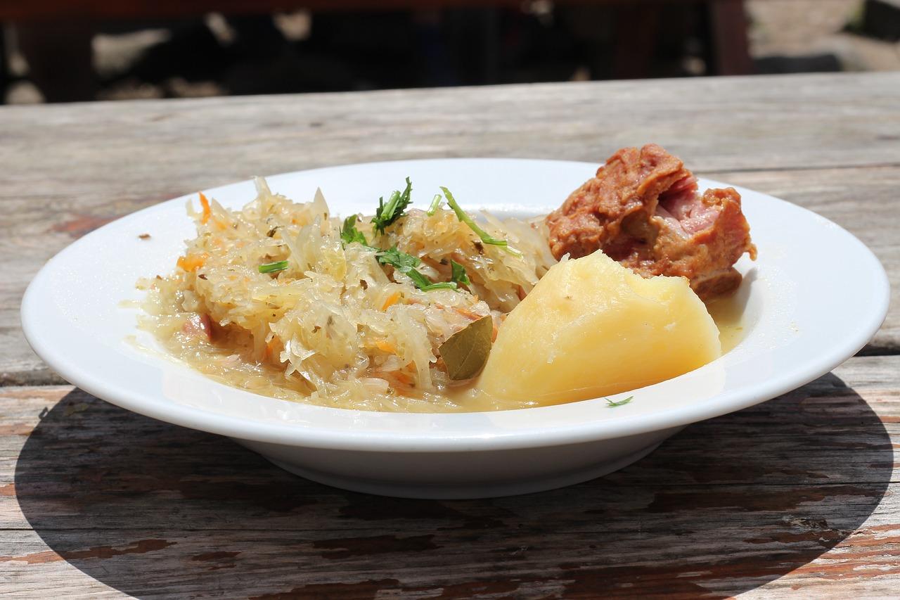 Recette choucroute alsacienne traditionnelle au four